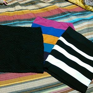 6 for 20 sale Lot of 3 pencil skirts
